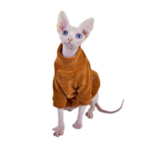 Cat Sweater&Kitten Sweater-Chenille Fabric