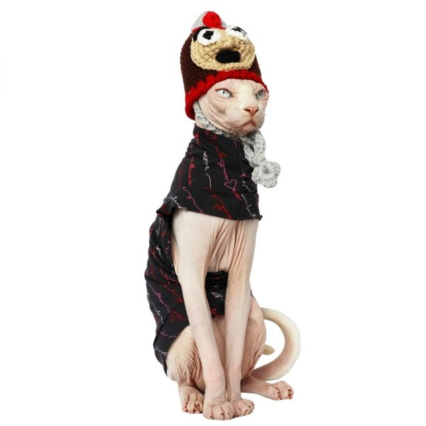 Hairless Cat Halloween Outfits | Cat Clothes, Halloween Costume for cats