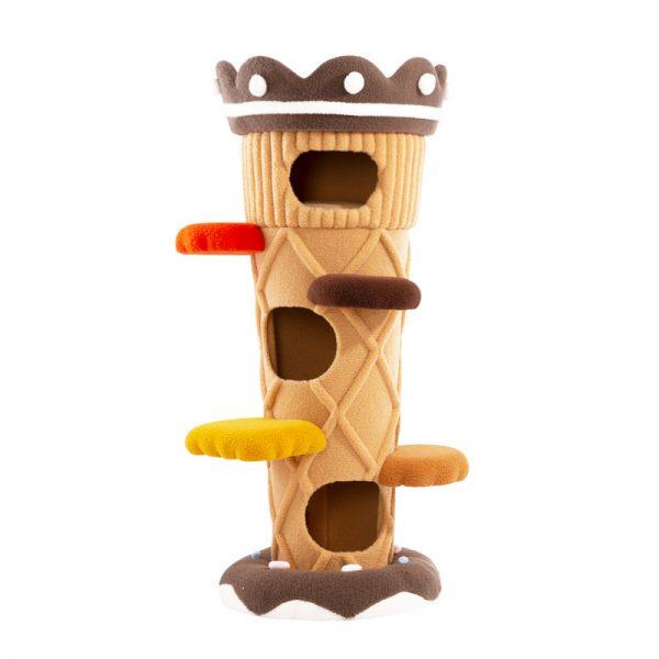 Cat Tree | Ice Cream Shaped Cat Tower Cat Tress & Condo, Fur Cat Tree
