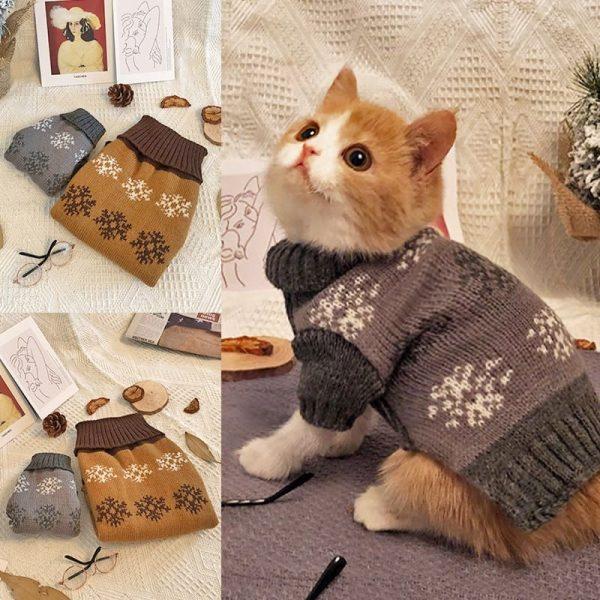 Cat Christmas Outfit Snow | Cat Christmas Outfit, Cat Christmas Costume
