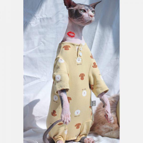 Cat Onesie for Cat Onesies for Kittens, Cat Surgery Suit, Four-legged