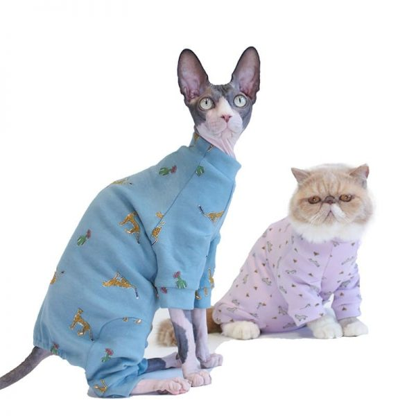 Cat Onesie for Cats | Onesies for Kittens, Cat Surgery Suit, Four-legged