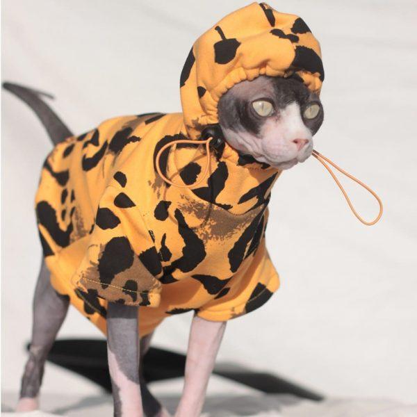 Cat Sweatshirt Drawstring | Sweatshirt, Cat in sweatshirt, Hoodie for cats
