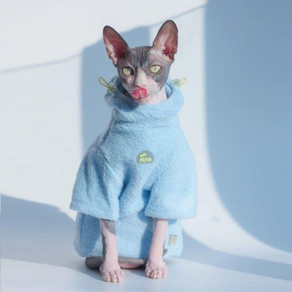 Cat Winter Coat Hoodie | Cat Winter Coat for Cats, Cat in Clothes