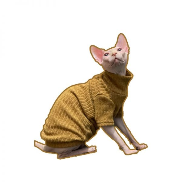 Hairless Cat Sweater Turtleneck | Sphynx Cat Sweater Turtleneck Sweater