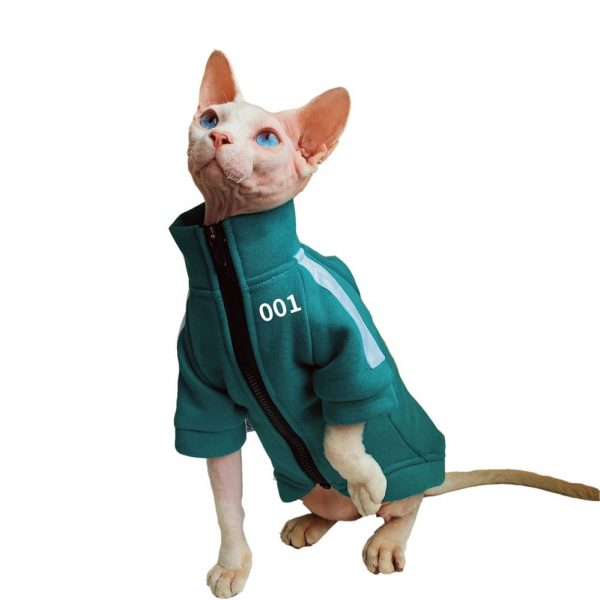 Squid Game Jacket for Cat | Cat Coat, Coats for Cats, Jackets for Cats